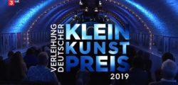 Deutscher Kleinkunstpreis 2019