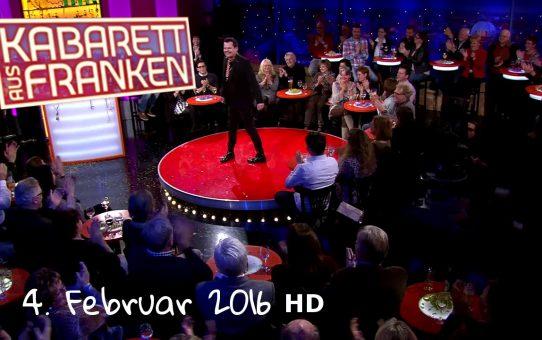 Kabarett aus Franken vom 04.02.2016