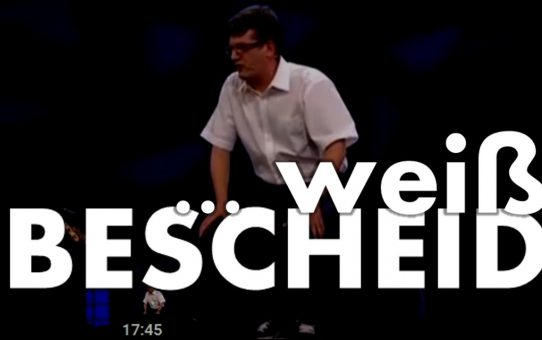 Nils Heinrich weiß Bescheid - 3sat Festival 2012