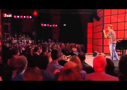 Tobias Mann - Verrückt in die Zukunft - 3sat Festival 2013