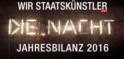 Wir Staatskünstler - Jahresbilanz 2016